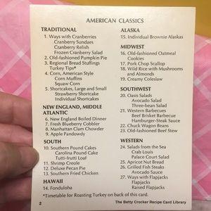 Betty Crocker Other - 🍎🍑BETTY CROCKER RECIPE CARDS LIBRARY🥦🧅PT.#1
